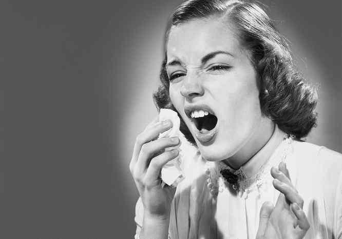Vintage sneeze